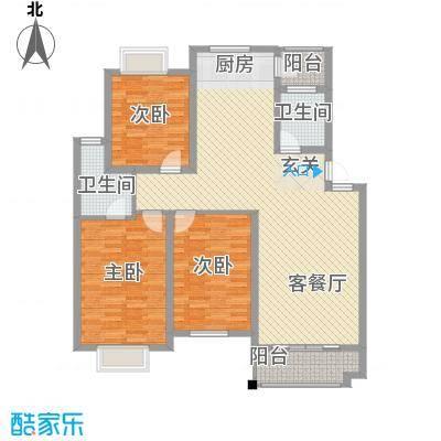 长河新苑长河新苑户型图[5)KB_6B6DOHHPY5]WRF2073室户型3室