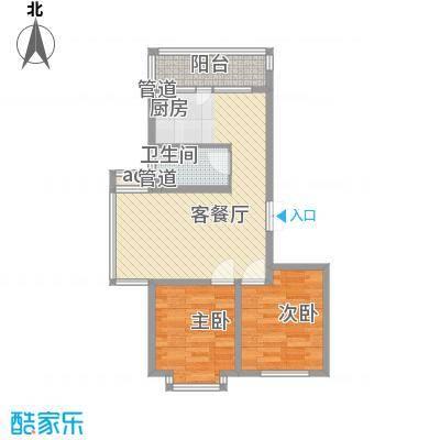 伸马梧桐湾伸马梧桐湾户型图小高层户型使用面积58.71㎡2室1厅1卫1厨户型2室1厅1卫1厨