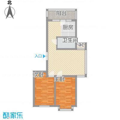 伸马梧桐湾伸马梧桐湾户型图三期高层户型使用面积62.18㎡2室1厅1卫1厨户型2室1厅1卫1厨