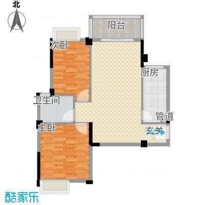 华京花园99.00㎡华京花园3室户型3室