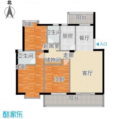 联邦广场130.05㎡联邦广场户型图3室2厅2卫1厨户型10室