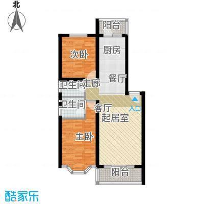 海富山水文园82.28㎡海富山水文园户型图2室2厅1卫1厨户型10室