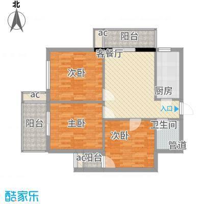 聚龙尚书院94.02㎡聚龙尚书院1#02(2-16层)户型10室
