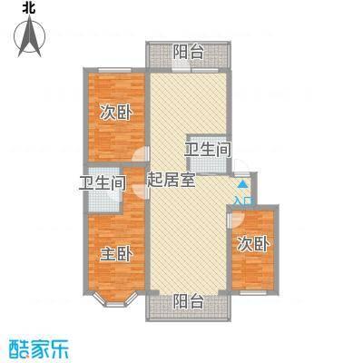 海富山水文园106.74㎡海富山水文园户型图三室二厅一卫户型3室2厅1卫1厨户型3室2厅1卫1厨