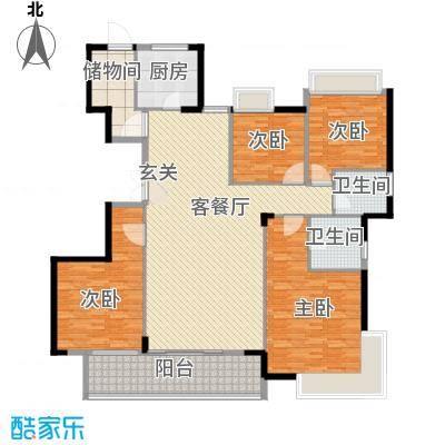 大儒世家绿园220.00㎡大儒世家绿园户型10室