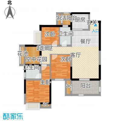 中惠沁林山庄中惠沁林山庄3室户型3室
