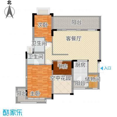 中惠沁林山庄139.00㎡中惠沁林山庄户型10室