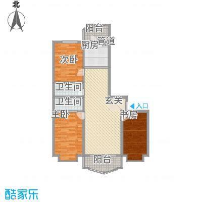 荣耀天地荣耀天地户型图E-2-2三室两厅两卫113.40平方米3室2厅1卫1厨户型3室2厅1卫1厨