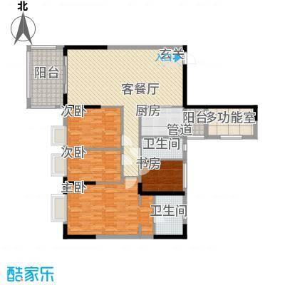 长堤1号119.00㎡长堤1号户型图7单元04户型3室2厅2卫1厨户型3室2厅2卫1厨