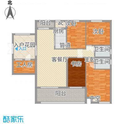 融汇江山 4室 户型图
