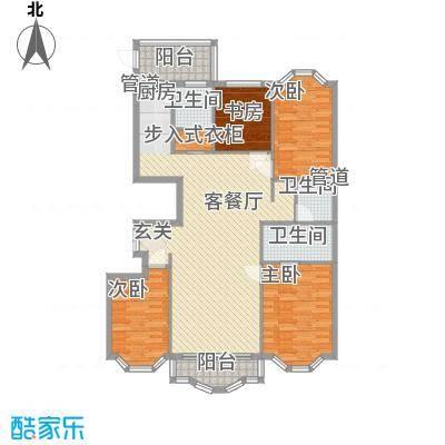 荣耀上城荣耀上城户型图三室两厅146.67平方米3室2厅2卫1厨户型3室2厅2卫1厨