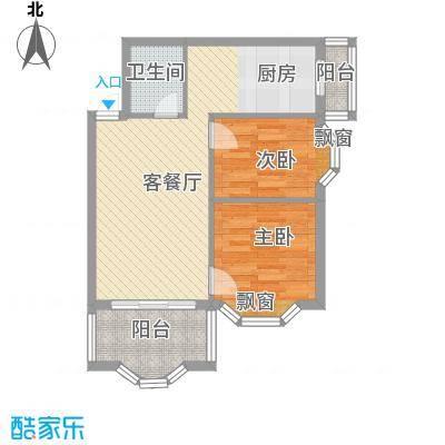 荣耀上城荣耀上城户型图两室一厅68.51平方米2室1厅1卫1厨户型2室1厅1卫1厨