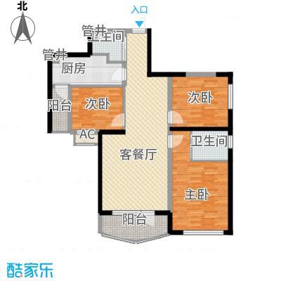 小平岛99.31㎡小平岛户型图19号楼A户型3室1厅2卫1厨户型3室1厅2卫1厨