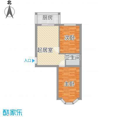 亿兴润景亿兴润景户型图户型图使用面积49.52㎡2室1厅1卫1厨户型2室1厅1卫1厨