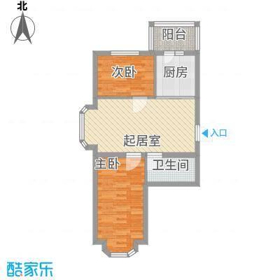 亿兴润景亿兴润景户型图户型图使用面积56.14㎡2室1厅1卫1厨户型2室1厅1卫1厨