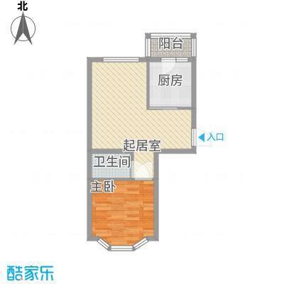 亿兴润景亿兴润景户型图户型图使用面积43.63㎡1室1厅1卫1厨户型1室1厅1卫1厨