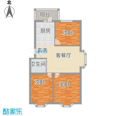 亿兴润景亿兴润景户型图户型:使用面积80.86㎡3室1厅1卫1厨户型3室1厅1卫1厨