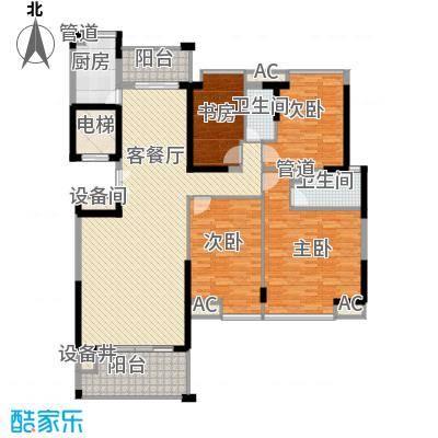 海景蓝湾161.00㎡海景蓝湾户型图1座02单位4室2厅2卫1厨户型4室2厅2卫1厨