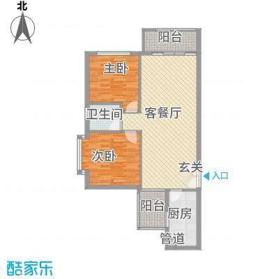 龙城国际龙城国际户型图龙禧阁04户型(售完)2室2厅1卫户型2室2厅1卫