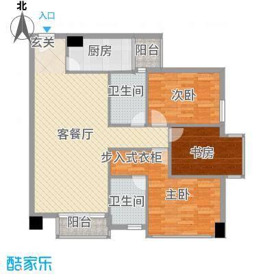 龙城国际龙城国际户型图A5户型(售完)3室2厅2卫户型3室2厅2卫