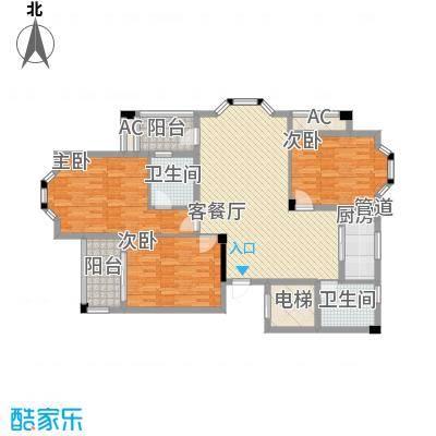 中惠山畔名城中惠山畔名城3室2厅户型3室2厅