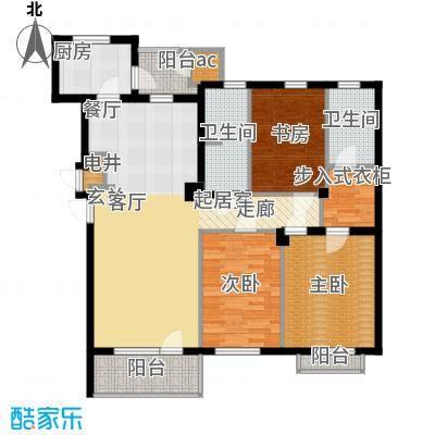 普罗旺斯131.00㎡普罗旺斯户型图4、5、10、11#楼K户型3室2厅2卫1厨户型3室2厅2卫1厨