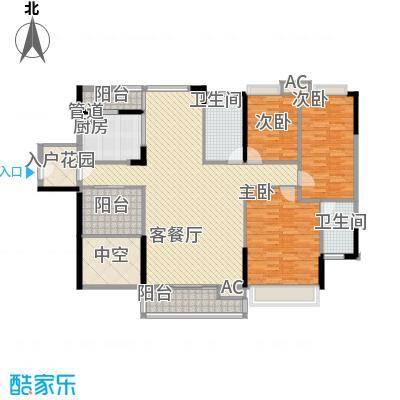 棕榈泉五期170.00㎡棕榈泉五期户型图25座标准层R2户型3室2厅2卫1厨户型3室2厅2卫1厨