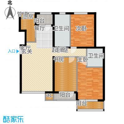 哈佛世纪136.22㎡哈佛世纪户型图5#楼B户型3室2厅1卫1厨户型3室2厅1卫1厨