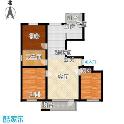 哈佛世纪115.23㎡哈佛世纪户型图5#楼A户型3室2厅1卫1厨户型3室2厅1卫1厨