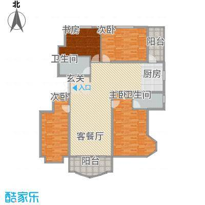 荣耀天地211.00㎡荣耀天地4室户型4室