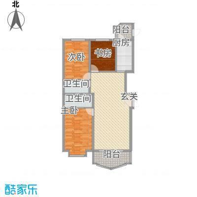 荣耀天地荣耀天地户型图D-2-2三室两厅两卫105.33平方米3室2厅2卫1厨户型3室2厅2卫1厨