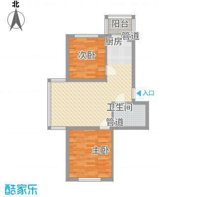 伸马梧桐湾伸马梧桐湾户型图使用面积54.67平方米2室1厅1卫1厨户型2室1厅1卫1厨