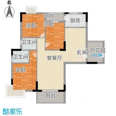 华盛锦溢华庭华盛锦溢华庭户型图a户型三房二厅二卫户型10室