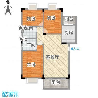 华盛锦溢华庭华盛锦溢华庭户型图c2户型三房二厅二卫户型10室