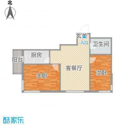 运华广场(江北)运华广场(江北)户型图使用面积65.66㎡2室1厅1卫1厨户型2室1厅1卫1厨
