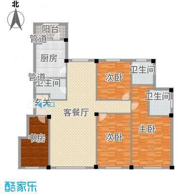 米兰D.C206.00㎡米兰D.C户型图户型44室2厅3卫1厨户型4室2厅3卫1厨