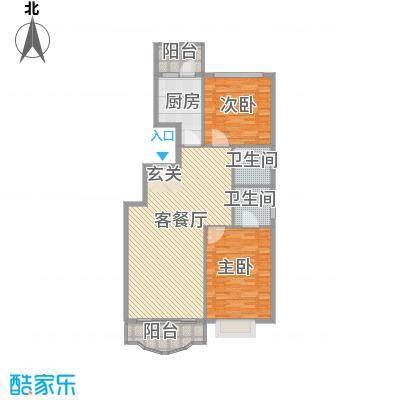 通达世家通达世家户型图户型图2室2厅2卫1厨户型2室2厅2卫1厨