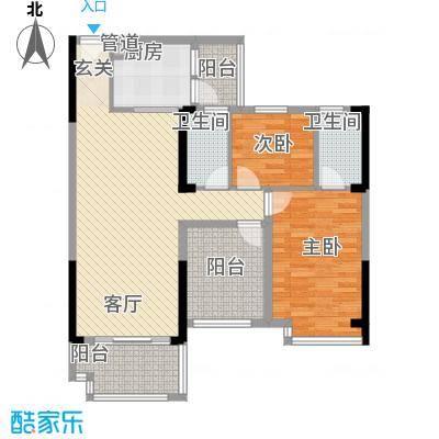 明大汇乐园明大汇乐园户型图1、4栋05户型3室2厅2卫户型3室2厅2卫