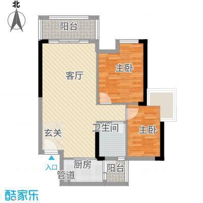 明大汇乐园明大汇乐园户型图1、4栋06户型2室2厅2卫户型2室2厅2卫