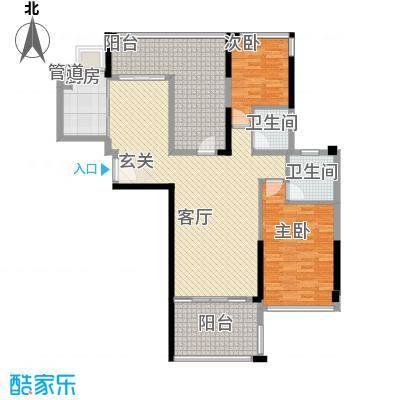 明大汇乐园明大汇乐园户型图2、3栋02户型3室2厅2卫户型3室2厅2卫