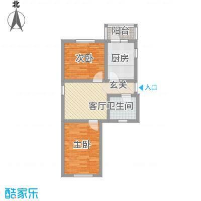 四季芳洲48.70㎡四季芳洲户型图2室1厅1卫1厨户型10室