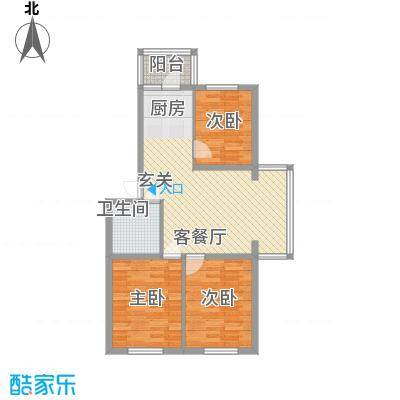 龙埠城市花园龙埠城市花园户型图户型图3室1厅1卫1厨户型3室1厅1卫1厨