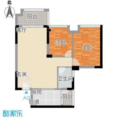 明大汇乐园明大汇乐园户型图1、4栋01户型2室2厅1卫户型2室2厅1卫