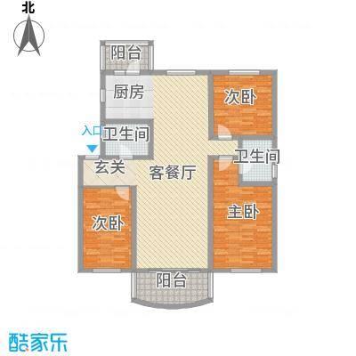 四季芳洲110.33㎡四季芳洲户型图3室1厅1卫1厨户型10室