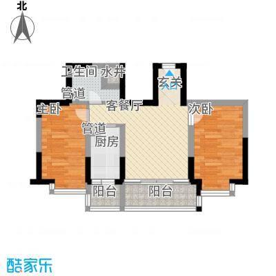 阳光绿景阳光绿景户型图二室一厅使用面积64㎡2室1厅1卫1厨户型2室1厅1卫1厨