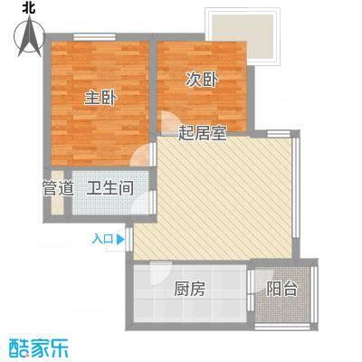阳光绿景阳光绿景户型图两室一厅48.47平方米2室1厅1卫1厨户型2室1厅1卫1厨
