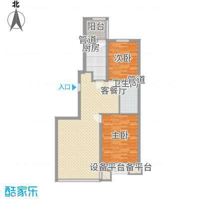阳光绿景阳光绿景户型图二室一厅使用面积65.15㎡2室1厅1卫1厨户型2室1厅1卫1厨