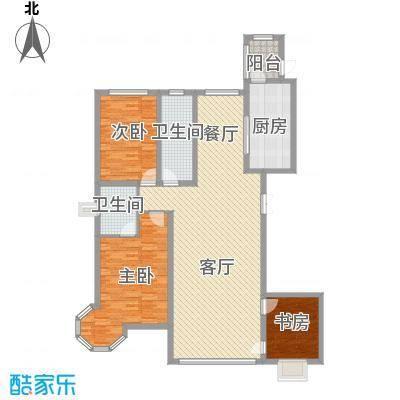 皇家花园皇家花园户型图户型图3室2厅2卫1厨户型3室2厅2卫1厨