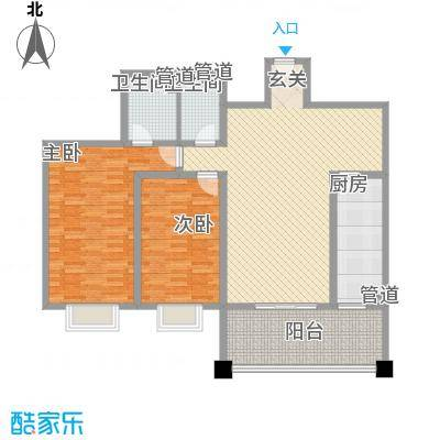 金月湾花园二期158.00㎡金月湾花园二期4室户型4室