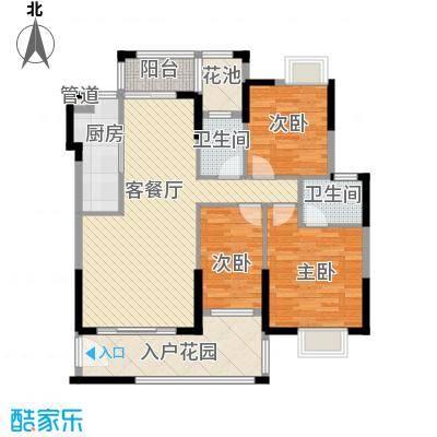 龙湾新城113.67㎡龙湾新城户型图F1栋02户型3室2厅2卫1厨户型3室2厅2卫1厨